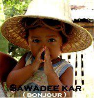 Bonjour-en-thai