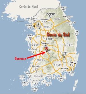 Geumsan-map