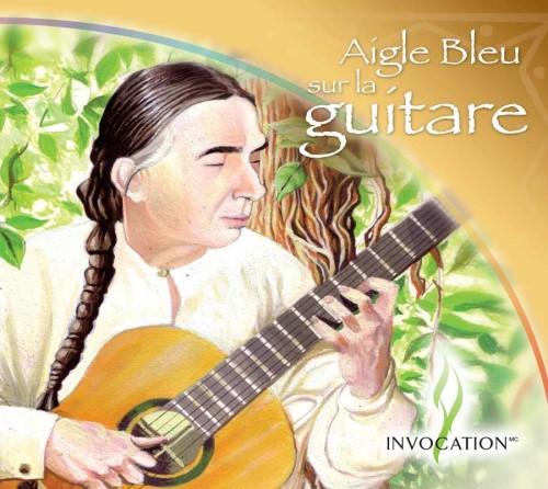 CD Aigle Bleu à la guitare