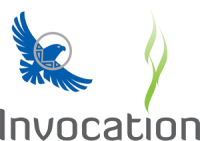 Invocation d'Aigle Bleu - Logo