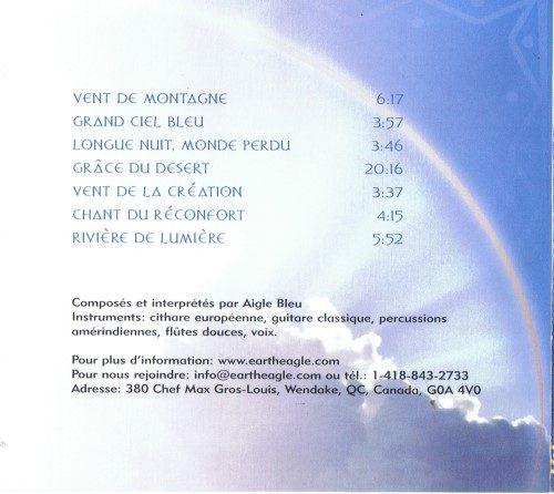 CD Sons du ciel - Aigle Bleu - Verso