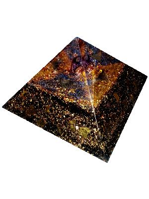 Orgonite Pyramide SDL - Modèle M