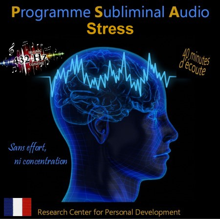 CD subliminal audio - Stress