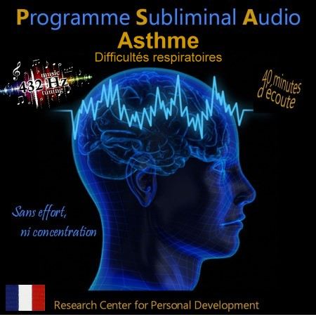 CD subliminal audio - Asthme