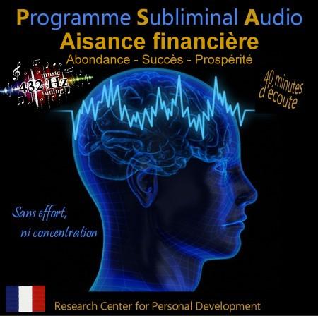 CD subliminal audio - Aisance financière