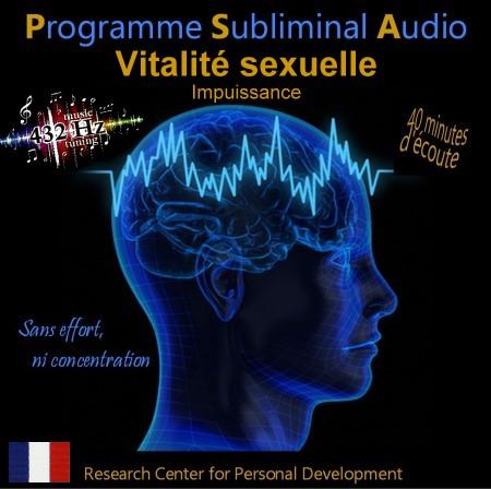 CD subliminal audio - Vitalité sexuelle
