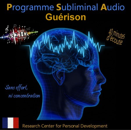 CD subliminal audio - Guérison