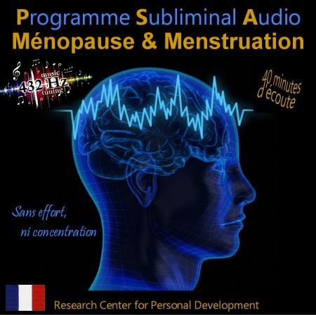 CD subliminal audio - Ménopause & Menstruation
