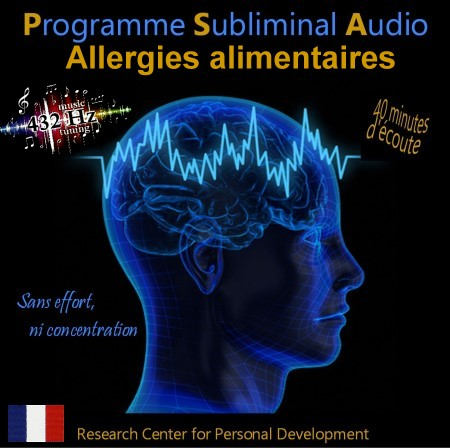 CD subliminal audio - Allergies alimentaires