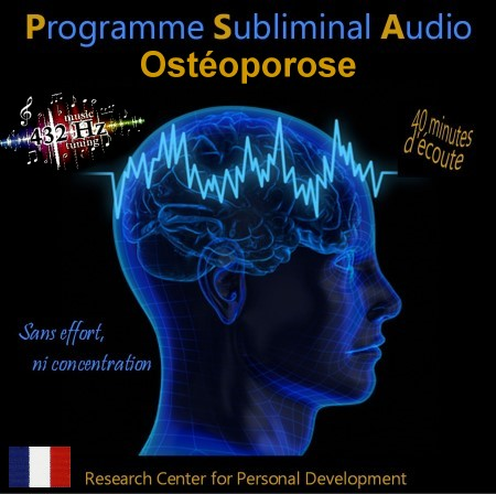 CD subliminal audio - Ostéoporose