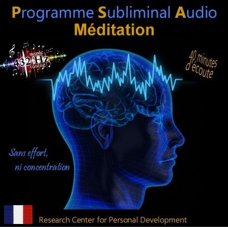 CD subliminal audio - Méditation