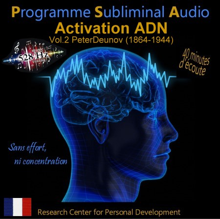 CD subliminal audio - ADN niveau 2