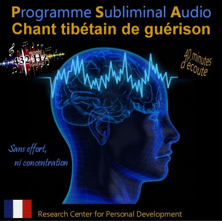 CD subliminal audio - Chants tibétains de guérison