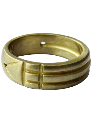 Bague Atlante en bronze