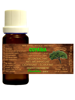COPAIBA20 - Huile baume de Copaïba - 20ml