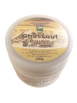 Ghassoul en poudre - Pot de 250gr