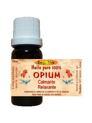 Huile pure d'Opium - 10ml