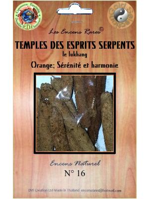 ER10-16 - Les Encens Rares - Temples des Esprits Serpents