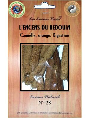 ER10-28 - Les Encens Rares - L'Encens du Bédouin
