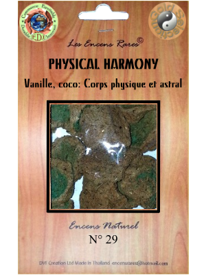ER10-29 - Les Encens Rares - Physical Harmony