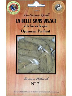 ER10-71 - Les Encens Rares - La Belle sans Visage