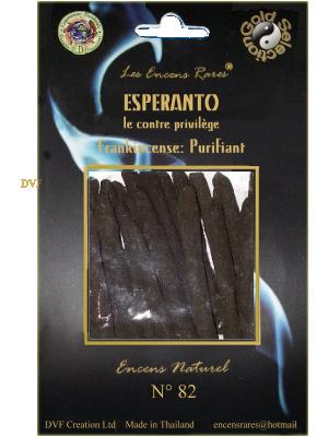 ER10-82 - Les Encens Rares - Esperanto