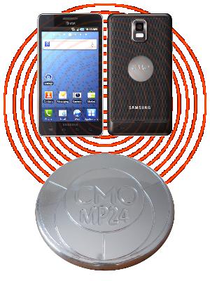 CMO-MP24 - protection électromagnétique pour téléphones portables, tablettes,......