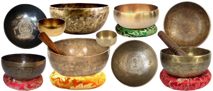 Bandeau Bols chantants - 7 métaux - Népal