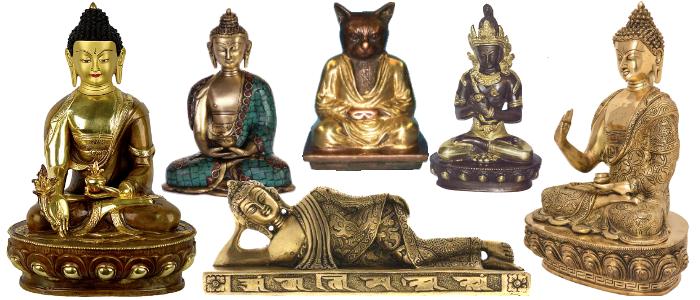 Bandeau Bouddha bronze 01
