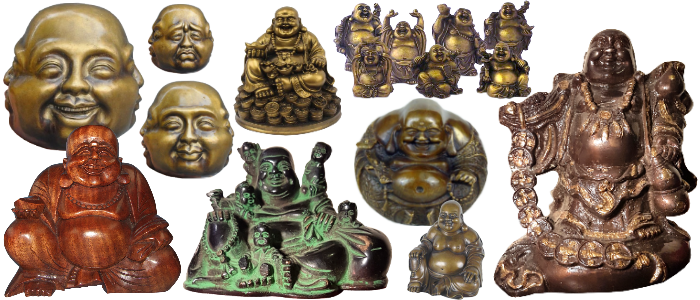 Bandeau Bouddha rieur ou Bouddha chinois