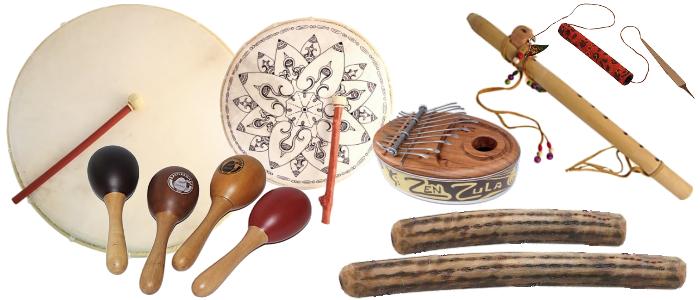 Bandeau Instruments Shamaniques