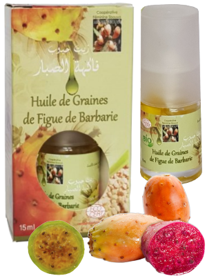 Huiles de graines de figues de Barbarie - 15ml