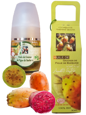 Huiles de graines de figues de Barbarie - 30ml
