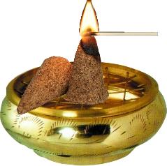 Allumer un cone de Palo Santo