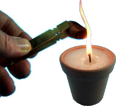 Combustion des Encens Rares