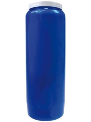 Bougie végétale Neuvaine Bleu