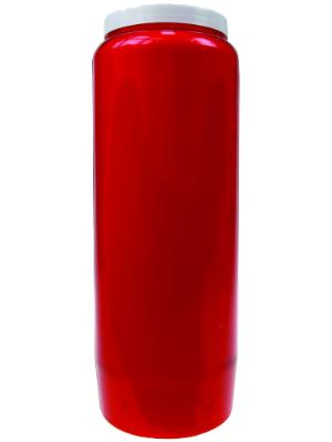 Bougie végétale Neuvaine rouge