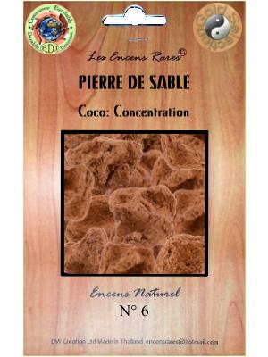 ER10-06 - Les Encens Rares - Pierre de sable