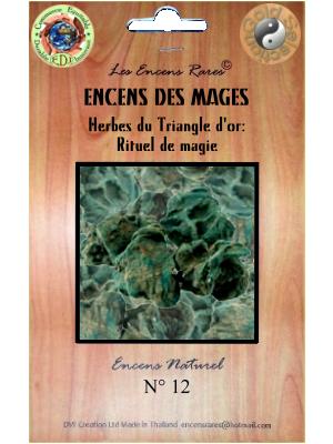 ER10-12 - Les Encens Rares - Encens des Mages