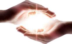 Énergie vital dans les mains