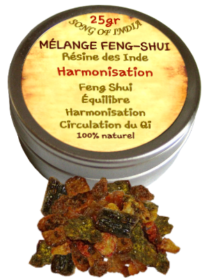 Résine mélange Feng-Shui - Bt 25gr