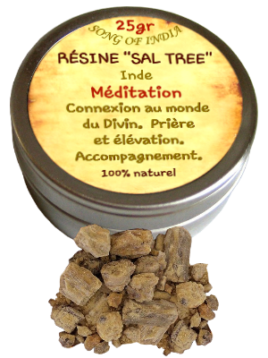 Résine de Sal Tree - Bt de 25 gr