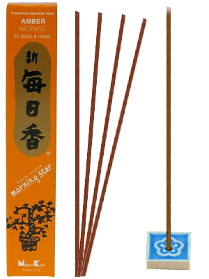 Encens Japonais Morning Star AMBRE