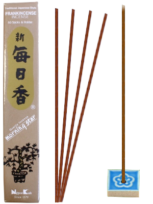 Encens Japonais Morning Star - FRANKINCENSE / OLIBAN - 50 bâtonnets