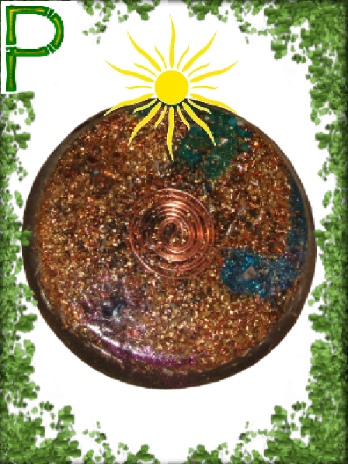 Orgonite plateau GM